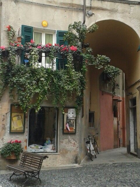 Finalborgo Liguria Italy. By Antonella Baiardi