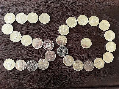 #Olympic 50p. all #types #available. football, triathlon, judo, wrestling.   ,  View more on the LINK: http://www.zeppy.io/product/gb/2/391476209733/