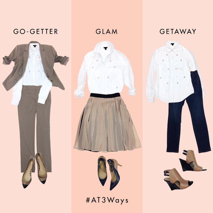 #AT3Ways: Stripe Perfect Shirt (via Bloglovin.com )