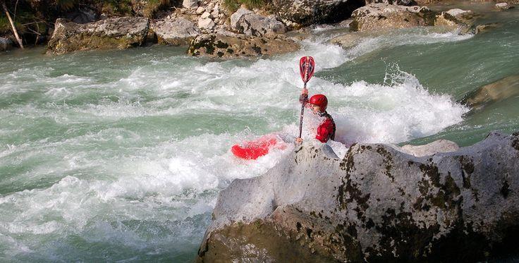 Wildwassertour in Bad Reichenhall Raum München in Bayern #Wassersport #Abenteuer #Geschenk