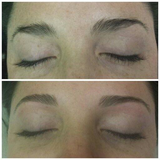 Brow clean up www.aroyalpampering.com