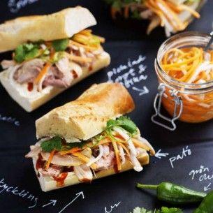 Bánh mì från vietnam - Recept från Mitt kök - Mitt Kök | Recept | Mat | Vin | Öl