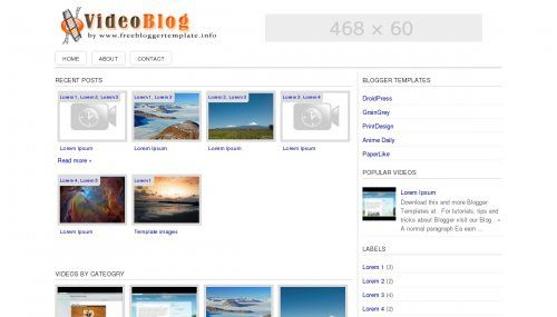 SimpleVideoblog-Photo Gallery
