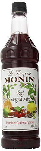 Monin Flavored Syrup, Red Sangria Mix, 33.8-Ounce Plastic Bottles (Pack of 4) Monin http://www.amazon.com/dp/B000YT5KKC/ref=cm_sw_r_pi_dp_ES76ub01K4V0R