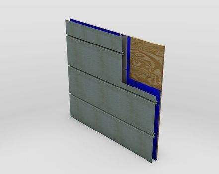 Reveal Facade Panel - architectural metal - MetalTech-USA