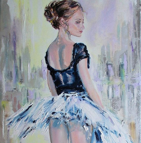 Original ballerina painting.ballerina oil painting,ballerina art,ballet dancer,ballerina wall art,ballet painting,ballerinas,pointe shoes