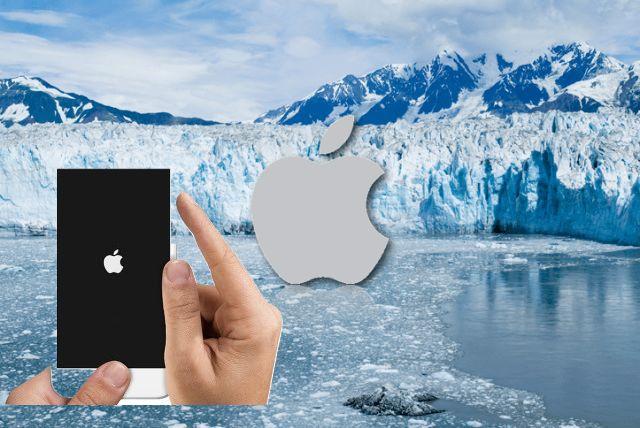iPhone-ul se închide la frig