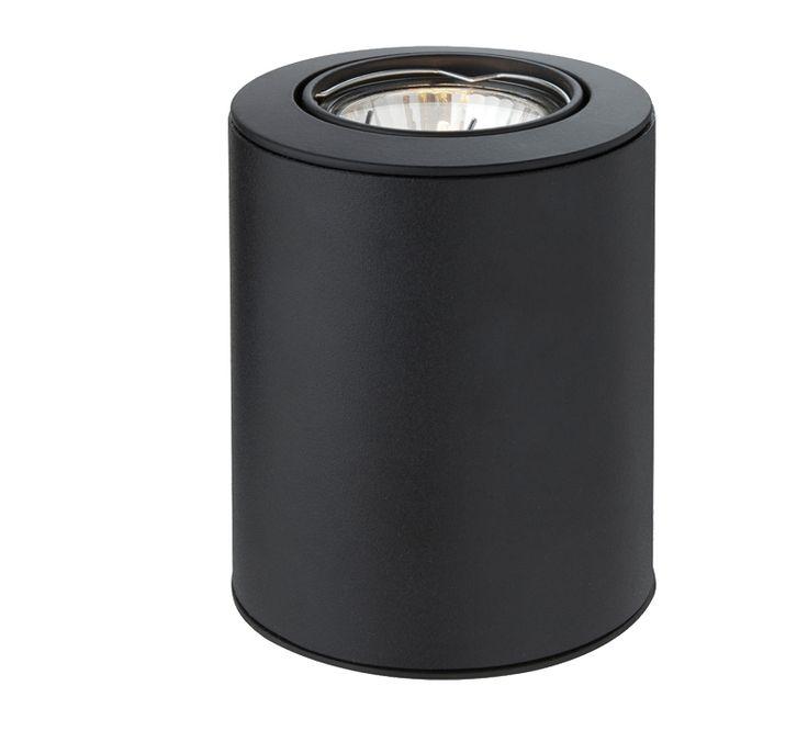Firstlight 'Floodlite' Uplighter Table/Floor Lamp, Black - 5080BK None