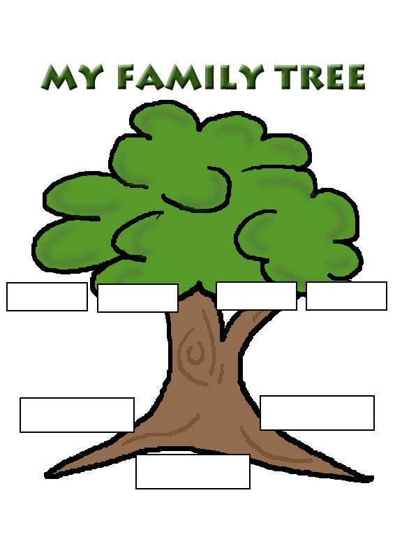 Family Tree- good for life cycles of people!
