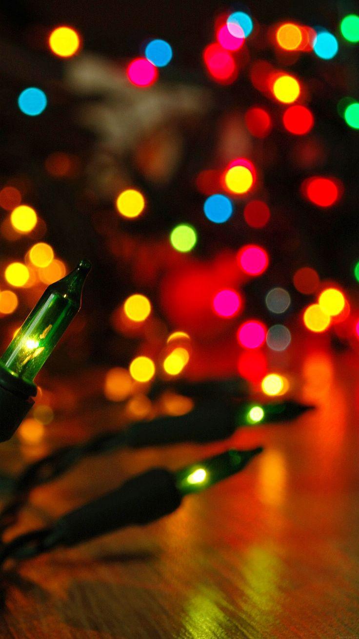 Christmas lights background tumblr christmas tree blur tablet phone - Holidays Garland Colorful New Year Christmas Blurred