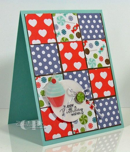Stampin' Up! SU by Catherine PoolerCards Design, Cards Ideas, Food Cards, Cards 14, Squares Cards, Handmade Cards, Birthday Cards, Sweets Shops, Catherine Pooler