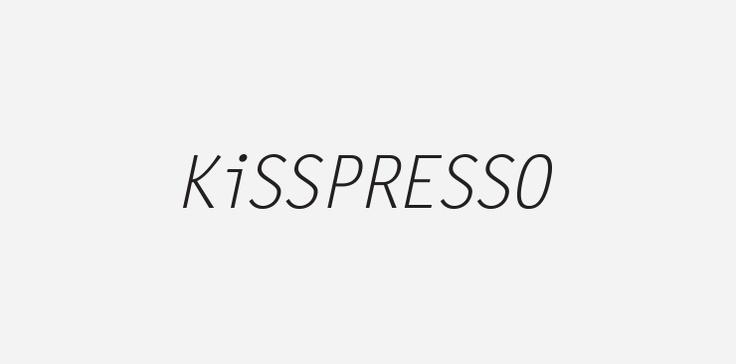 Kisspresso