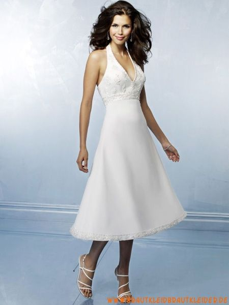 Schlichtes Brautkleid aus Satin A-Linie Herz-Ausschnitt
