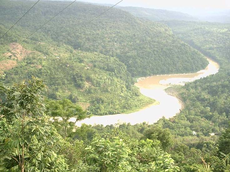 Baghmara Reserve Forest in Meghalaya, India