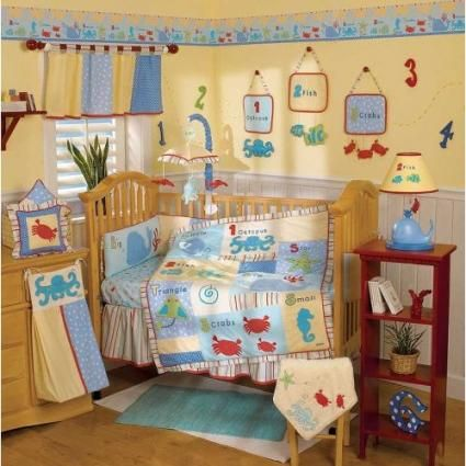 This Go Fish Bedding Is Perfect For Either A Boy Or