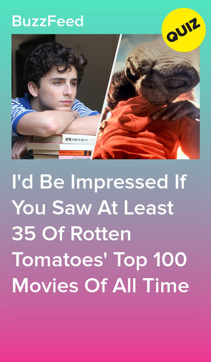 Only A True True Cinephile Has Seen At Least 40 100 Of Rotten