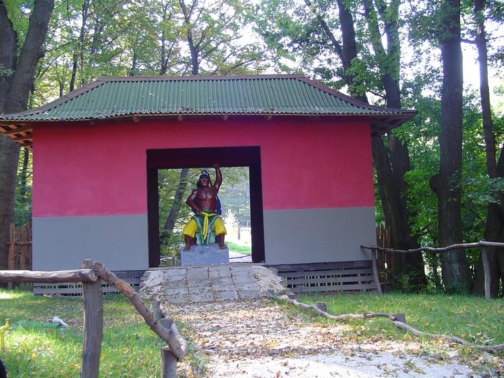 Shaolin harcos szobra