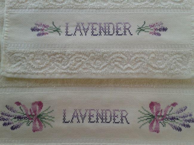 Set asciugamani Lavanda - Dall'album di Roby77