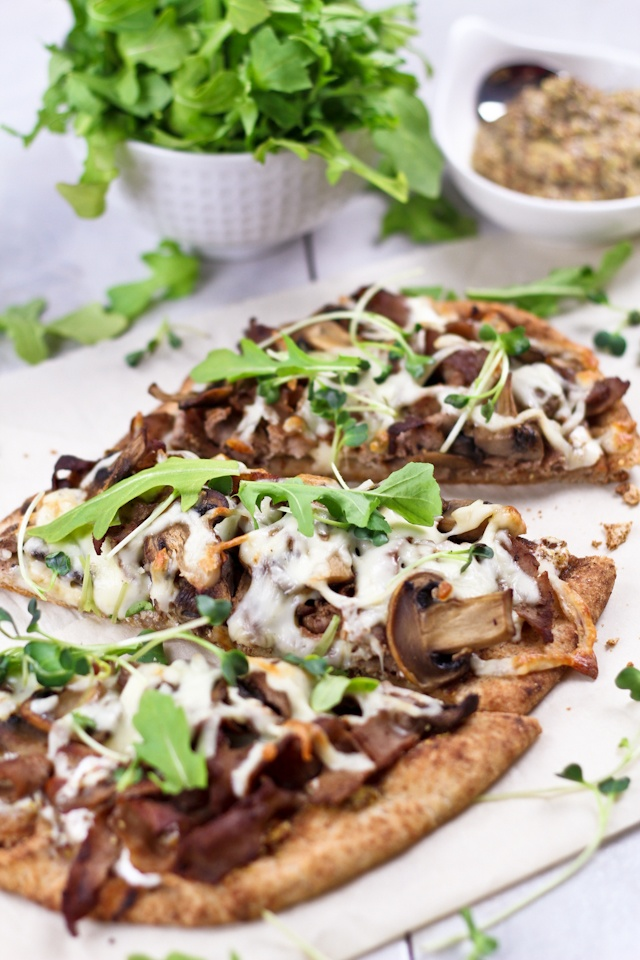 Quick and Easy Philly Cheese Steak Pizza