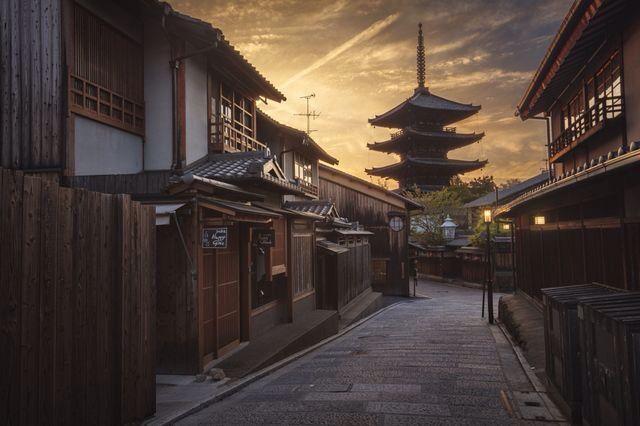 good night, Kyoto