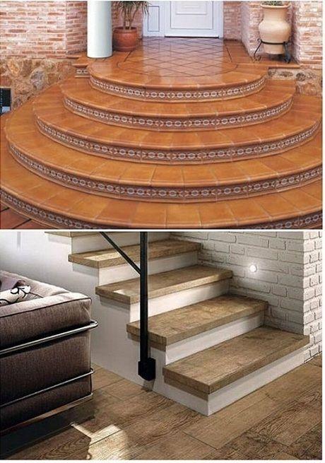 Деревянная лестница в частный дом
