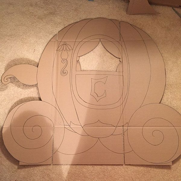 Tickled by the Creative Bug - Cinderella's Coach: Process