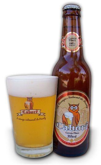 Cerveja Caborê Weiss, estilo German Weizen, produzida por Cervejaria Caborê, Brasil. 5.5% ABV de álcool.