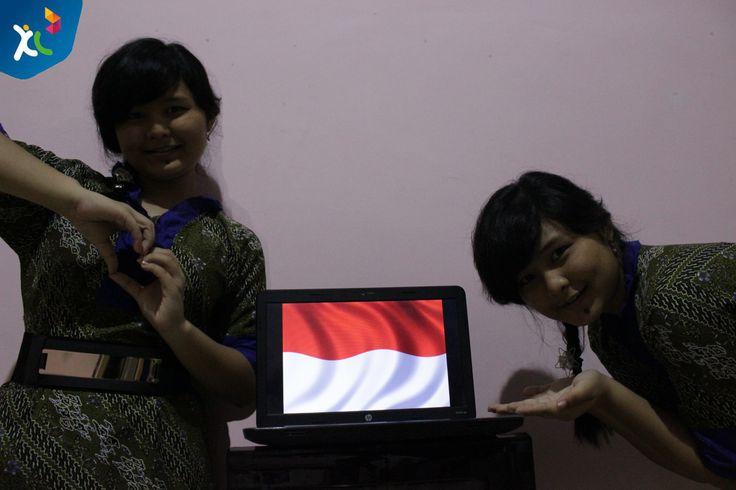 Aku cnta Indonesia karena Batik yang super Indah