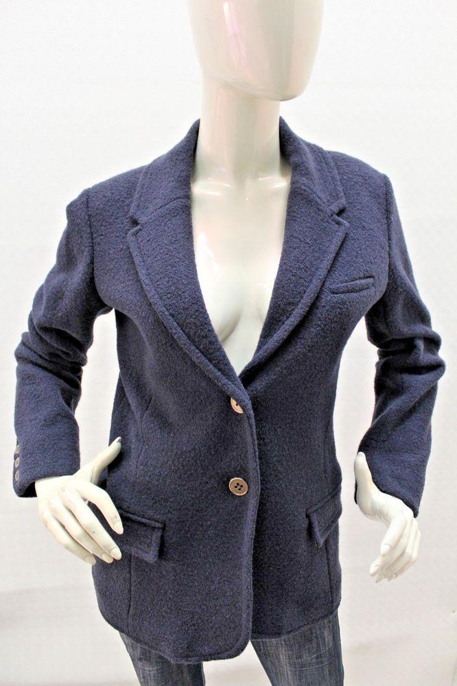 newest bc4fc 20b9f Dettagli su Giacca Armani Jeans Donna Blazer Jacket Coat ...