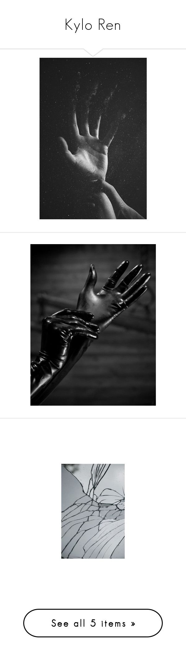 Black leather gloves brisbane -  Kylo Ren By Whiterabbitmadness Liked On Polyvore Featuring Accessories Gloves Pictures