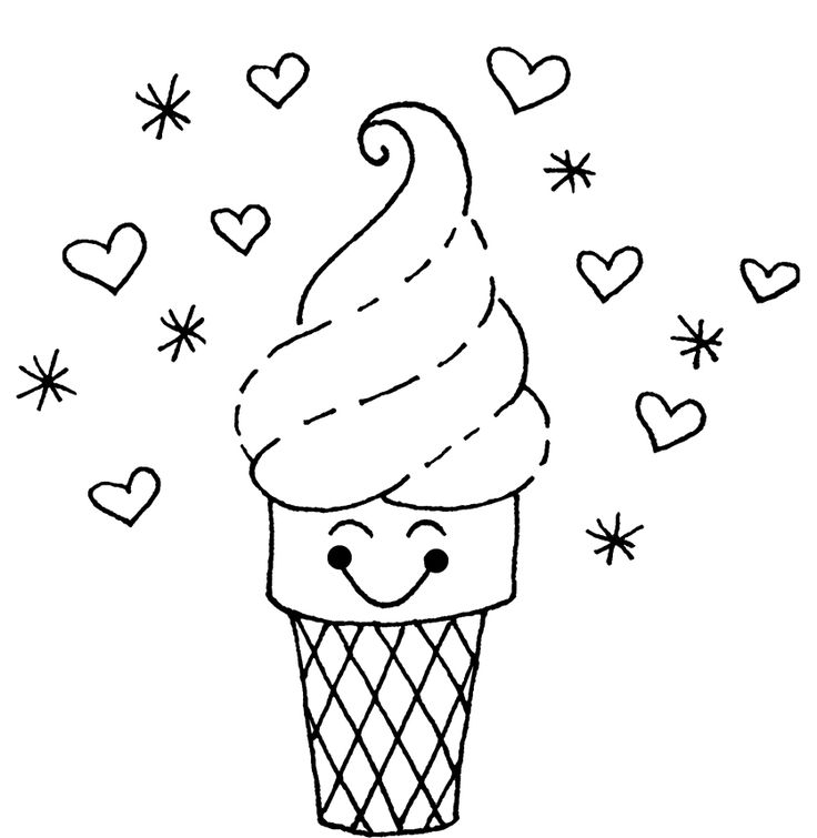 25 best ideas about Ice cream coloring pages on Pinterest  Cream