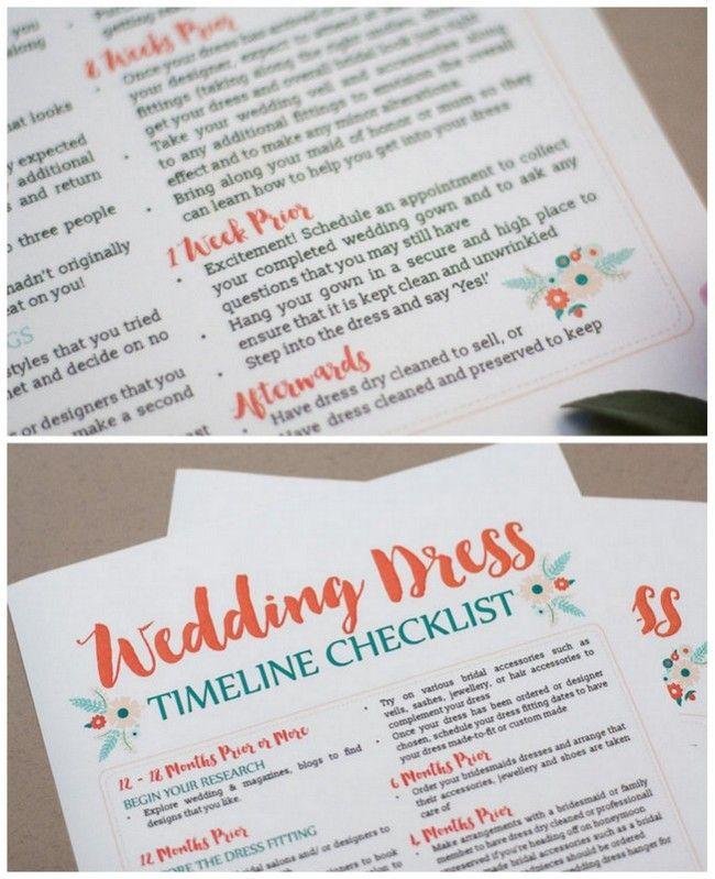 108 best Wedding Printables images on Pinterest Wedding ideas - printable wedding checklist