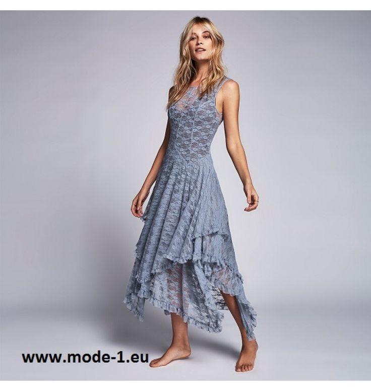 Asymmetrisches Maxi Kleid