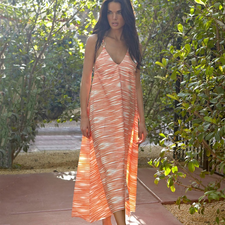 Rion Dress Burnt Sienna