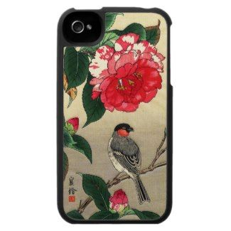 SOLD! - Bullfinch and Peony jo Hashimoto Youzuru Speck® Fitted™ Fabric-Covered Hard Shell Case for iPhone 4/4S #iphone4 #iphone #apple #Bull...