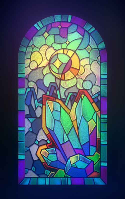 Stained Glass by ~Pikishi on deviantART