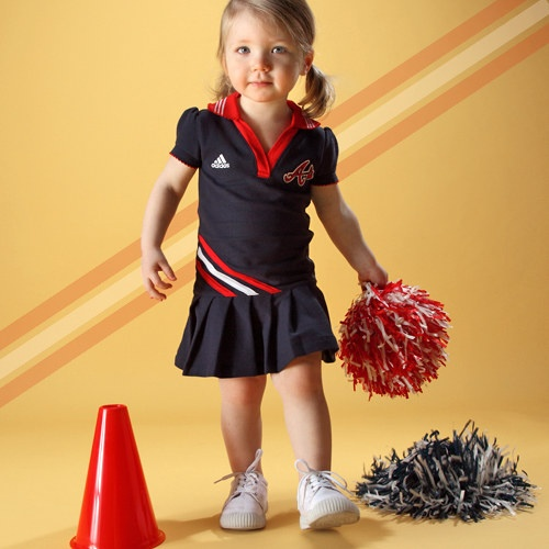 Polo dress from MLB on #zulily!  Well that's just Adorable ^.^