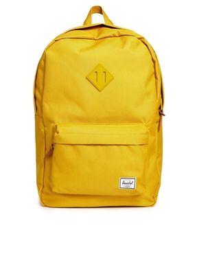 HerschelSUPPLY CO Heritage Backpack in Yellow