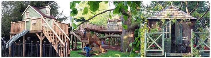 TreeHouseCompany - Custom built and design treehouses. How cool is this? Maybe I can find time to build one for my grandkids!