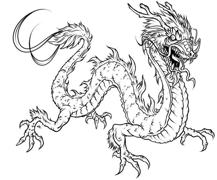 The Ancestors Of Dragons Coloring Pages
