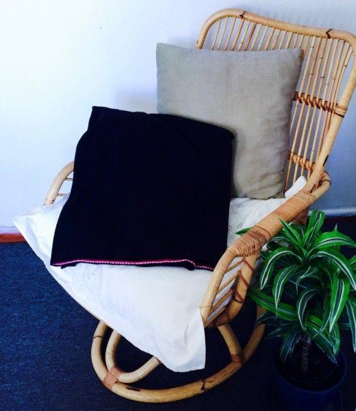 Black Fleece Blanket