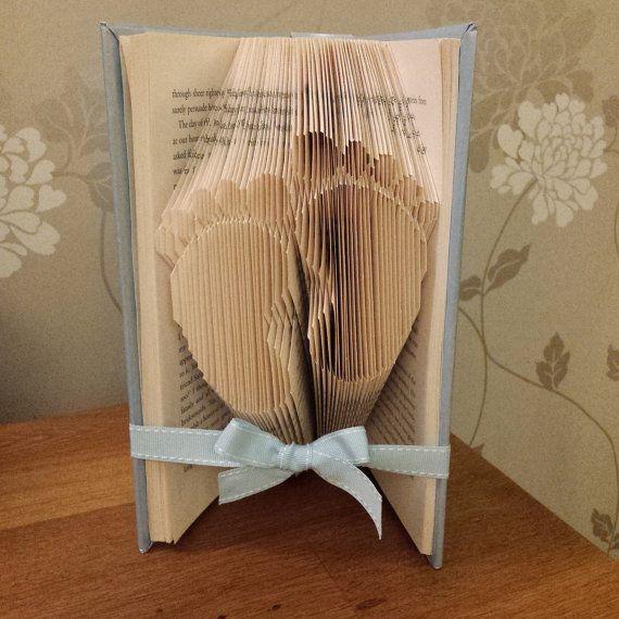 Baby book fold bookfold baby gift baby boy door Ameliaslittlegifts