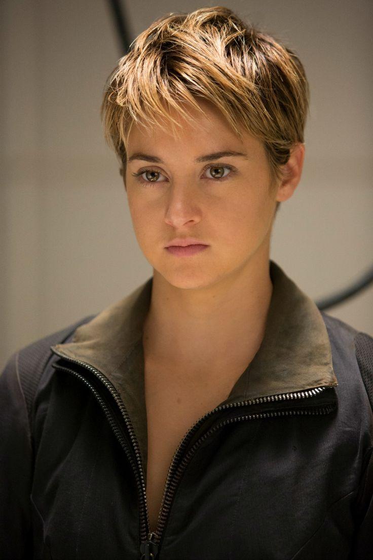 Shailene Woodley - Divergent  #attrice #fantasy #hair #blonde