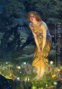 Midsummer Eve  by Edward Robert Hughes R.W.S.