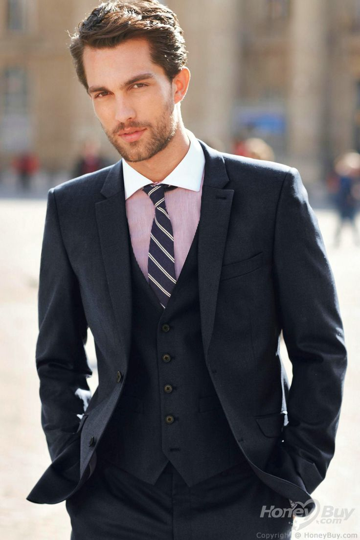 10 best Ties images on Pinterest | Navy blue suit, Navy suits and ...