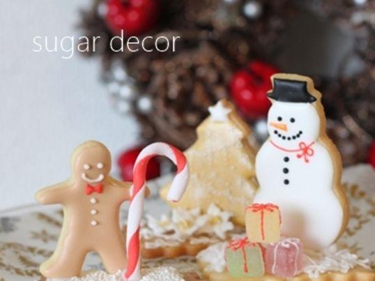 3Dクリスマスクッキー☆講師資格取得も可