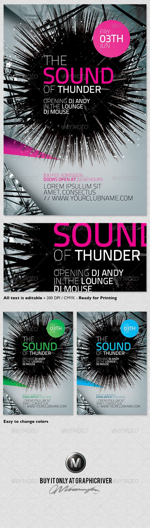 opening soon flyer template