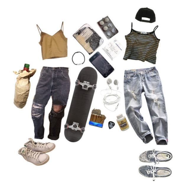 """""""We can't date if you don't skate"""" by sspaceprincess ❤ liked on Polyvore featuring Erika Cavallini Semi-Couture, adidas, NIKE and Venessa Arizaga"""