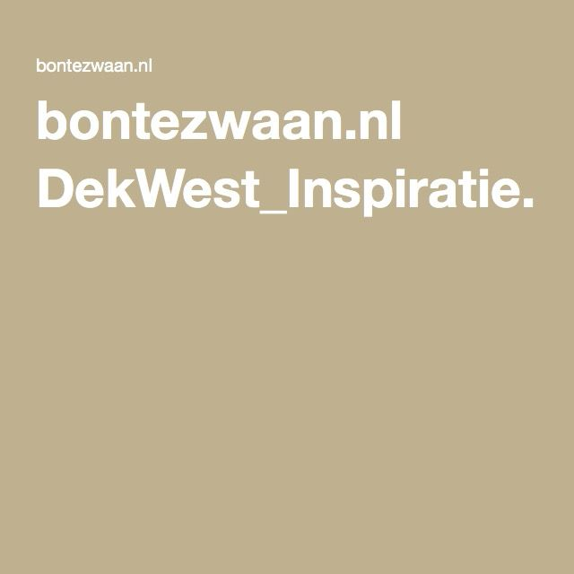 bontezwaan.nl DekWest_Inspiratie.pdf