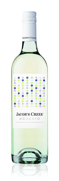 Jacob's Creek Moscato. It's a Frizzante wine meaning it's not quite sparkling but has a little fizz to it. Sweet and fun- perfect for a special occasion or holiday!